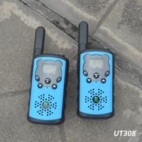 """מכשיר הקשר GoodTalkie UT308 ארוך טווח שני מכשירי רדיו דרך מכשיר הקשר נסיעות 10 ק""""מ (4)"""