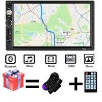 2 Din Car Radio 7 Bluetooth Stereo Car Multimedia Player Autoradio MP5 Touch Screen Auto Radio Support Rear View Camera 7010B