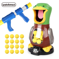 Air Powered Boy Kids Safety Soft Bullet Gun Child Toy Electronic Game Target Bullet Toy Indoor Hit Hungry Duck Toy