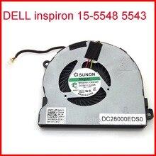 New MF60070V1-C300-G9A DC5V 0.40A 4Pin For DELL inspiron 15-5548 5543 Laptop CPU Cooler Fan