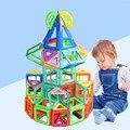 Mini 132 pcs Conjunto Modelo de Construção Designer & Brinquedo Magnético de Construção Magnético Blocos de Construção de Brinquedos Educativos Para Crianças