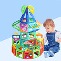 Mini 132pcs Magnetic Designer Construction Set Model & Building Toy Magnetic Building Blocks Educational  Toys For Kids