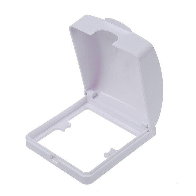 Badkamer Muur Schakelaar Protector Flip Cap Wit Plastic Waterdichte ...