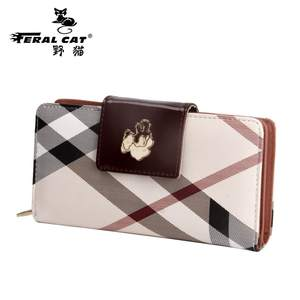FERAL CAT Luxury Style Women Wallets Designer Women Wallet c0eac84d411aa