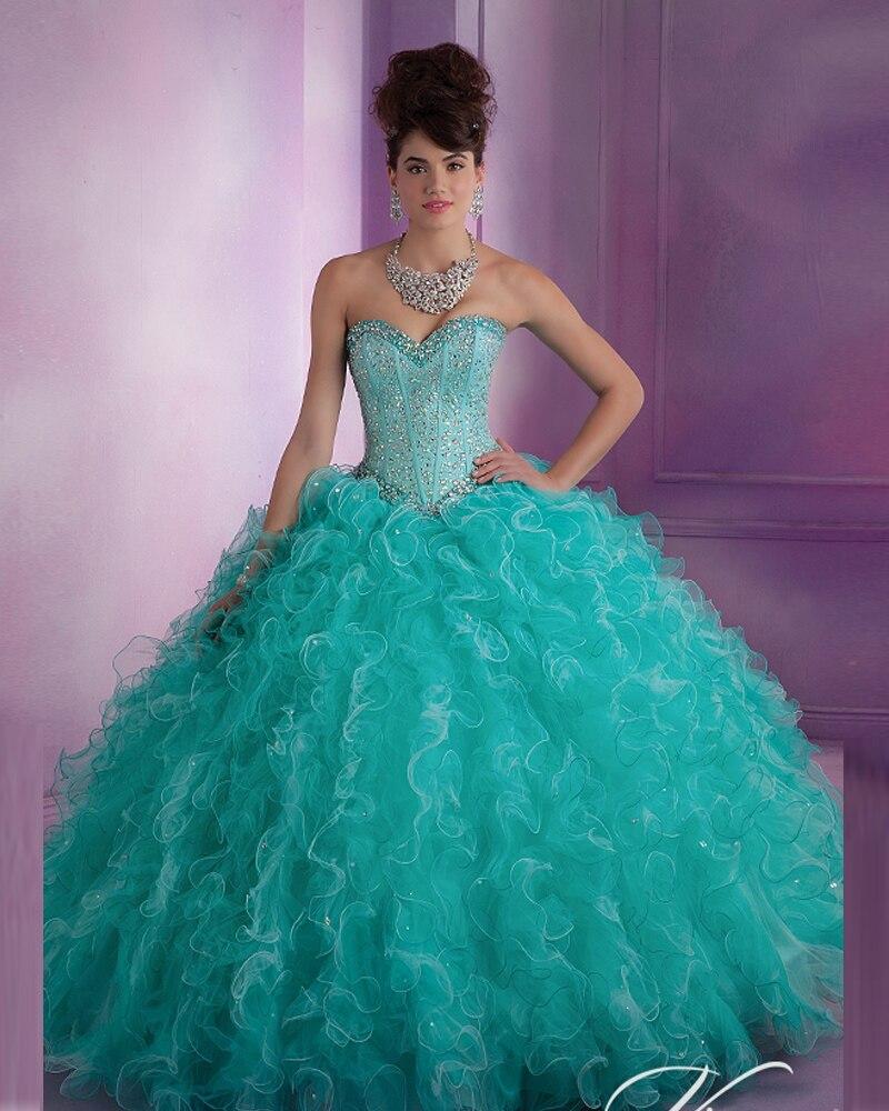 Tiffany Blue Sweet 16 Dresses