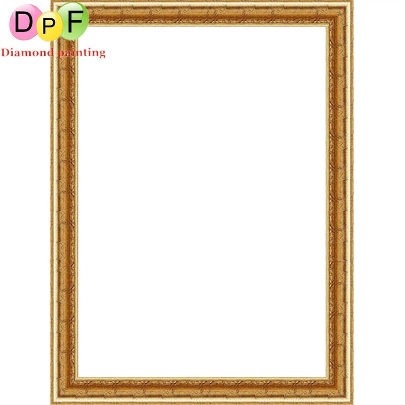 DPF 5d Diamant malerei Kreuzstich Elegante blume Runde voller ...