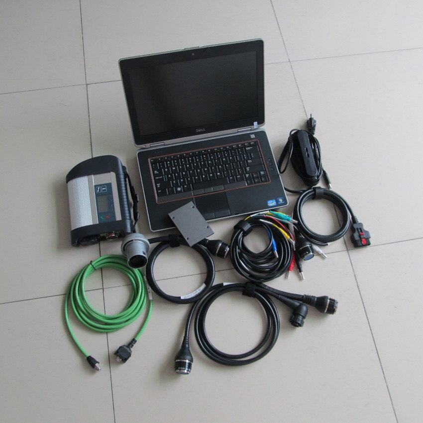 MB Star sd C4 Multi-Lingue per AUTO e CAMION Potente Funzione di deviazione standard di mb collega il compatto 4 con ssd 2019.09 software e6420 laptop