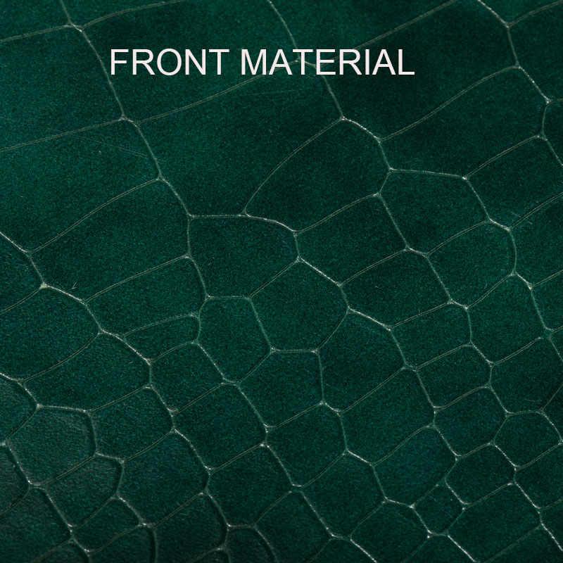 QIWANG тонкий женский кошелек зеленые крокодиловые кошельки из телячьей кожи клатч сумка кошелек модный длинный пояс для мобильного телефона кошелек