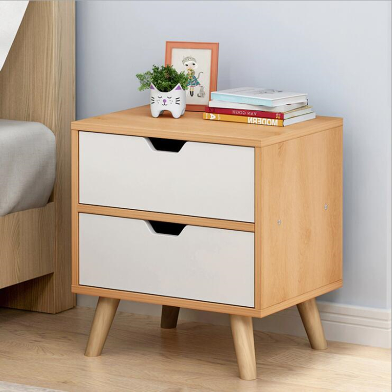 Modern Nightstand Bedroom Furniture Bedside Table Armoire De Rangement For Living Room Nordic Wooden Side Cabinet Muebles