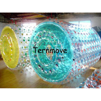 Inflatable Roller Wheel,PVC TPU Water Walking Rollering Balls,rolling balls water fountain,inflatable grass clear rolling ball