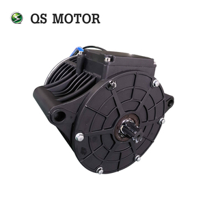 Image 2 - QS MOTOR 138 3000W new version mid drive motor sprocket 428 and EM150SP controller for electric motorbike Z6 100KPH 72V