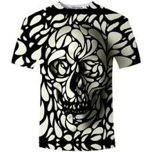 74a289ed104 Cloudstyle New Summer Style 3d t shirt Skull HD Print t shirt Men Women  Harajuku Short Sleeve Tee Shirts Fashion Clothing S-5XL