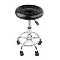 5 Rolls Stool Height Adjustable Swivel Chair Work Chair Swivel Stool