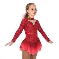 Nasinaya Figure Skating Dress Customized Competition Ice Skating Skirt for Girl Women Kids Patinaje Gymnastics Performance 348