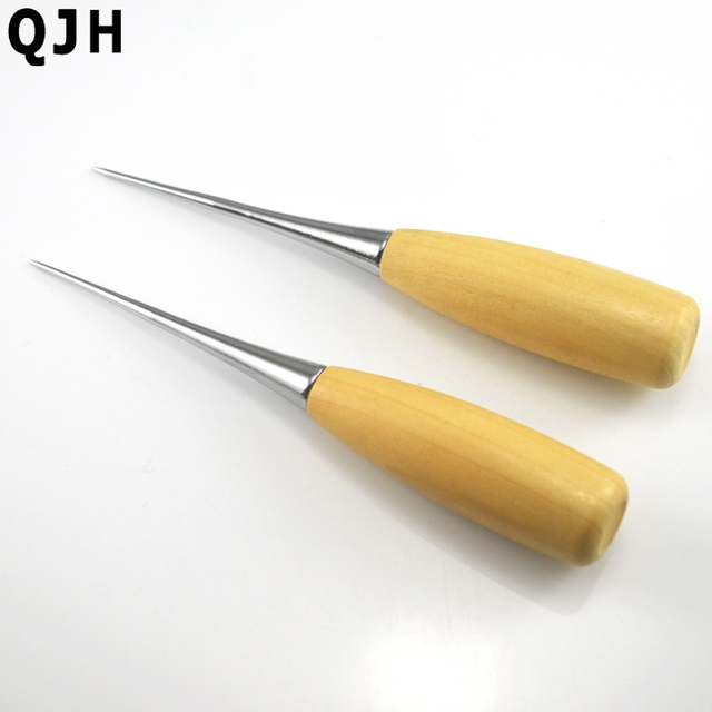2Pcs Patchwork DIY Manual Leather Tools Wooden Handle Sewing Awl Stitcher Leather Craft Canvas Tent Sewing  sc 1 st  AliExpress.com & 2Pcs Patchwork DIY Manual Leather Tools Wooden Handle Sewing Awl ...