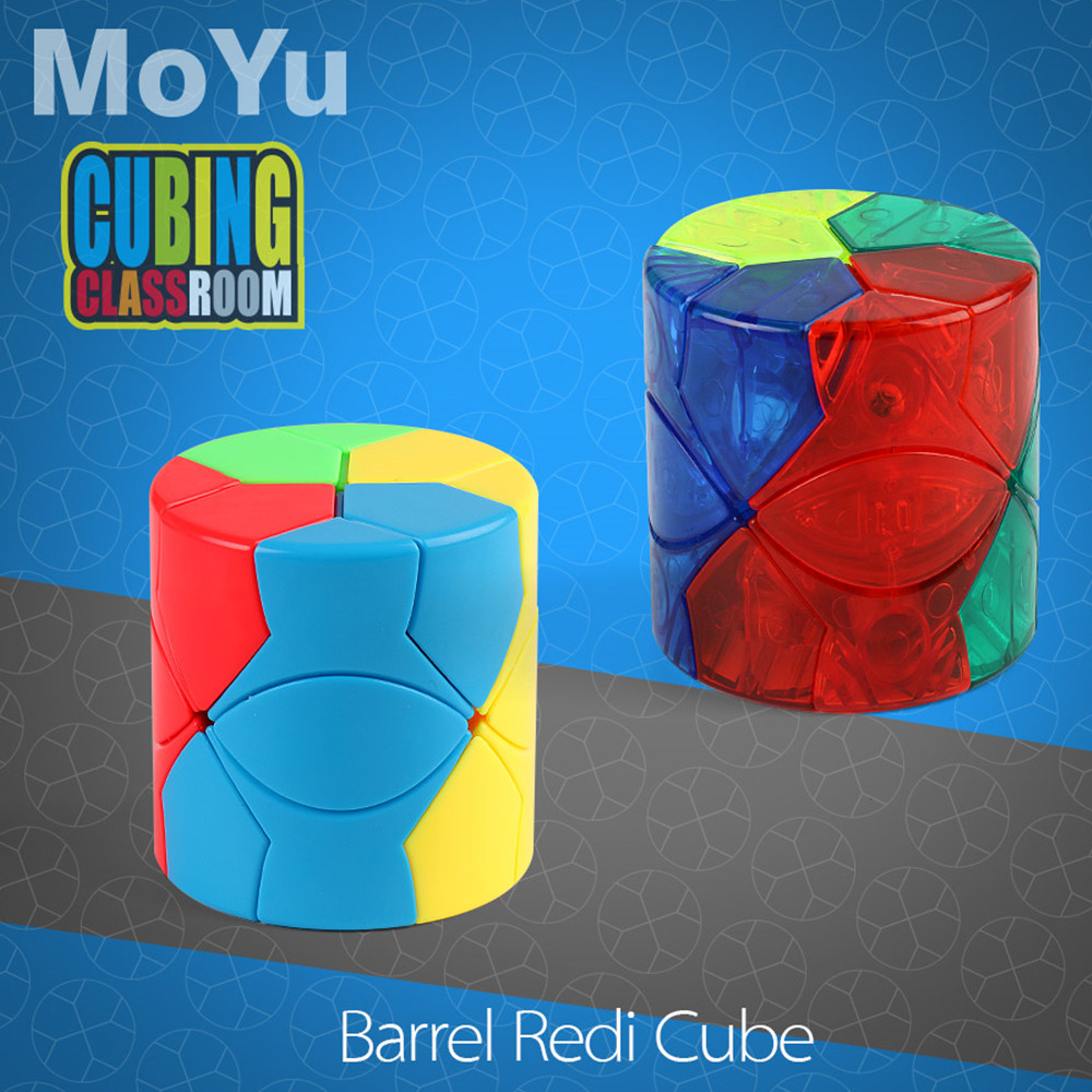 Moyu Mofangjiaoshi Colonne Baril Redi Magic cube Stickerless Forme Cube Jeu Spécial Cubes Jouets Éducatifs pour Enfants Enfants
