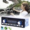 Автомобиль Радио Стерео-Плеер Bluetooth Телефон MP3 FM/USB для Зарядки/С Дистанционным Управлением 12 В Прокат Авто Аудио JSD-20158