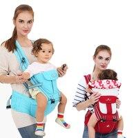 Ergonomic Baby Carrier Backpack Safety Belt Wrap Sling Design Summer Infant Saddle Baby Holder