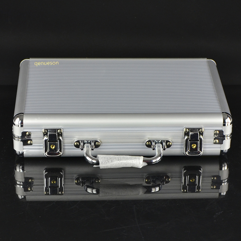 New Hot High Quality Hot Texas Poker Chips 200 Pcs Portable Aluminum Case Box Poker Game Box Qenueson
