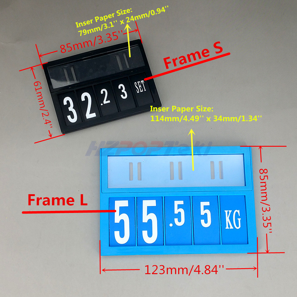 suporte de plastico cartao etiqueta de 01