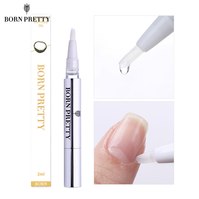 BORN PRETTY Nail Cuticle Oil 2ml Fruit Flower Flavor Oil Pen Manicure Nail Art Nutrition Treatment Care Tool