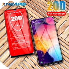 20D protective glass is suitable for samsung Galaxy A10 A30 A50 A8 A7 2018 M10 M20 M30 toughened screen film