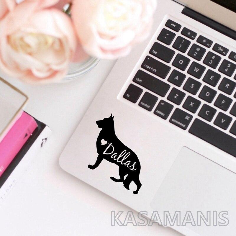 German Shepherd Laptop Stickers Decoration