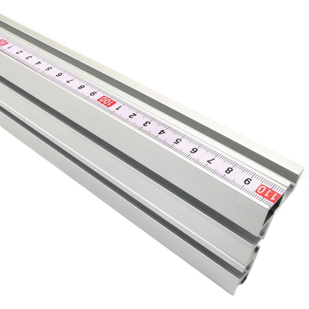 800mm Aluminium Alloy 75 Type T Slot Universal Woodworking Backer Band Saw Backer