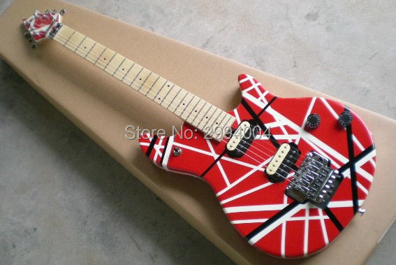 e v h double wave electric guitar electric guitar new 22 f real photos provide the ems. Black Bedroom Furniture Sets. Home Design Ideas