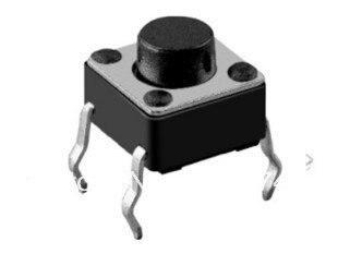 タクトスイッチ1000個6x6x4.3mm卸売送料無料