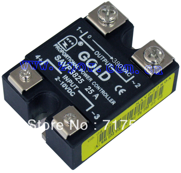Free shipping AC voltage relay SSR SAVP3825 25A Voltage regulation