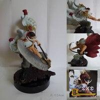 二つの色24センチpvcワンピースアクションフィギュア白ひげ海賊エドワード·ニューゲートアニメフィギュアおもちゃ男の子用ギフトbrinquedosコレ