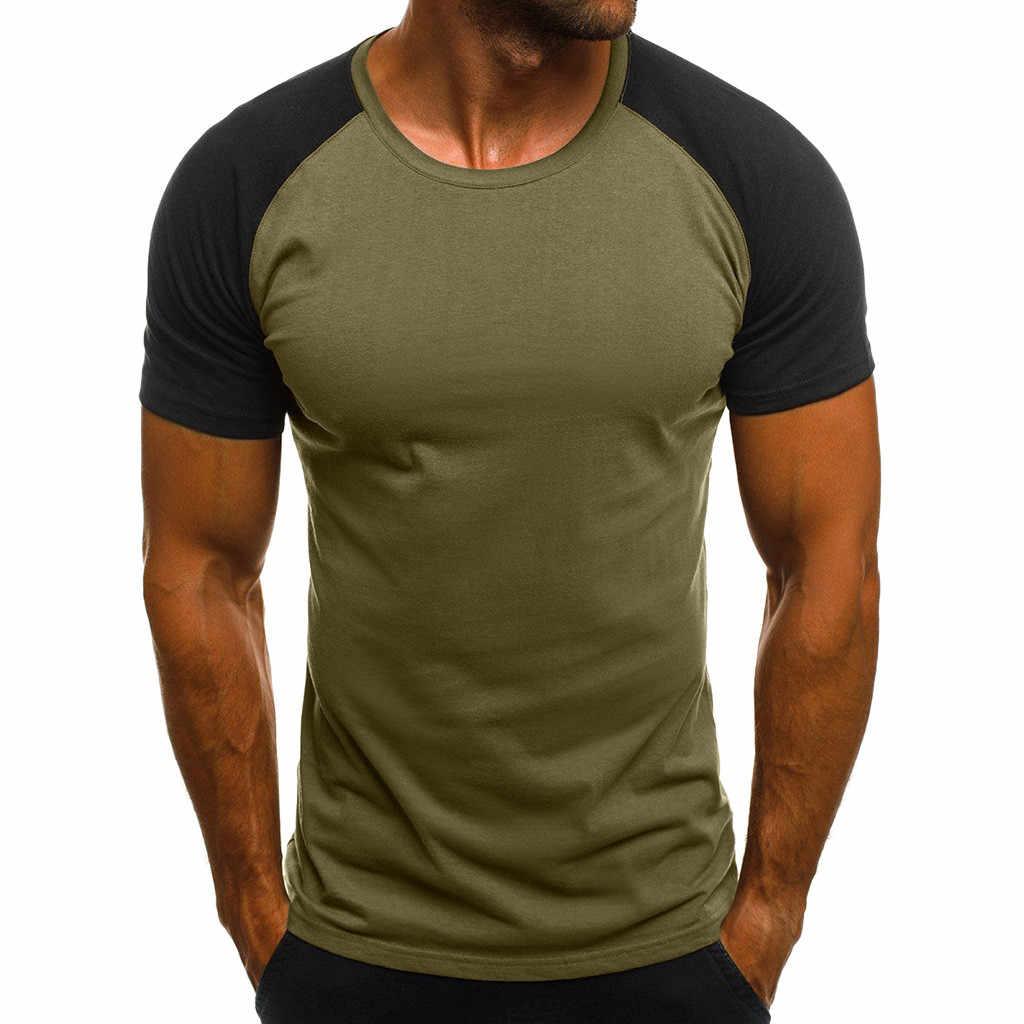 夏の tシャツの男性 harajukuFashion 男性のカジュアルスリム迷彩プリント半袖 Tシャツトップブラウス camisetas hombre