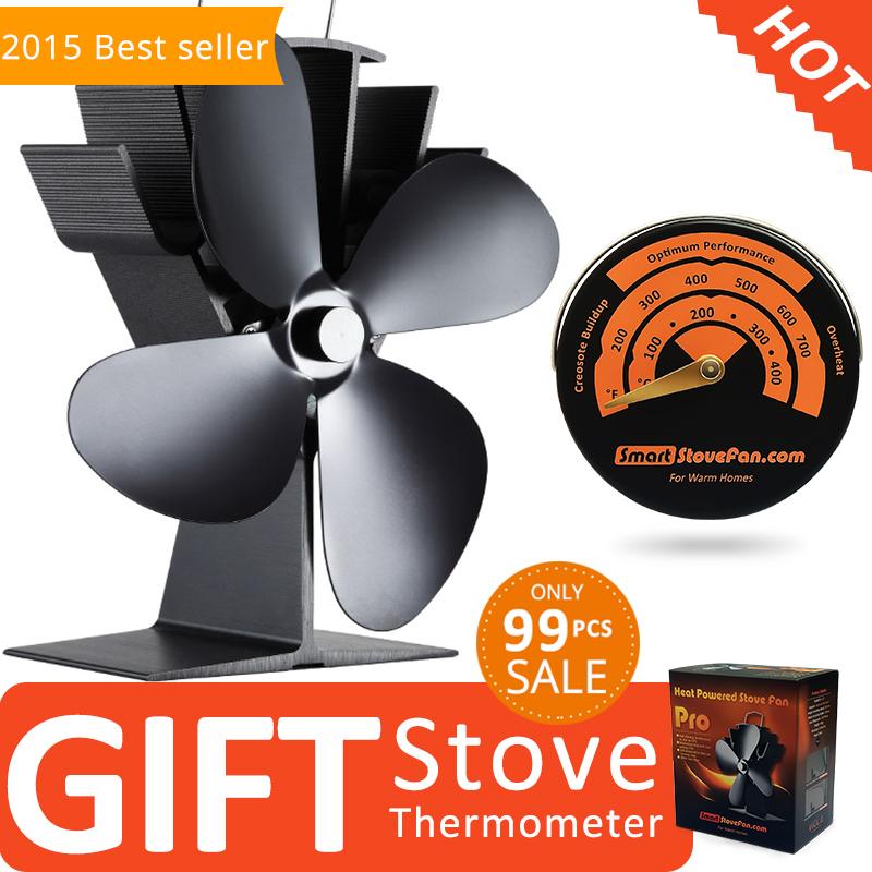regalo libre termmetro el superventas eco estufa de lea estufa estufa de calor del ventilador del ventilador
