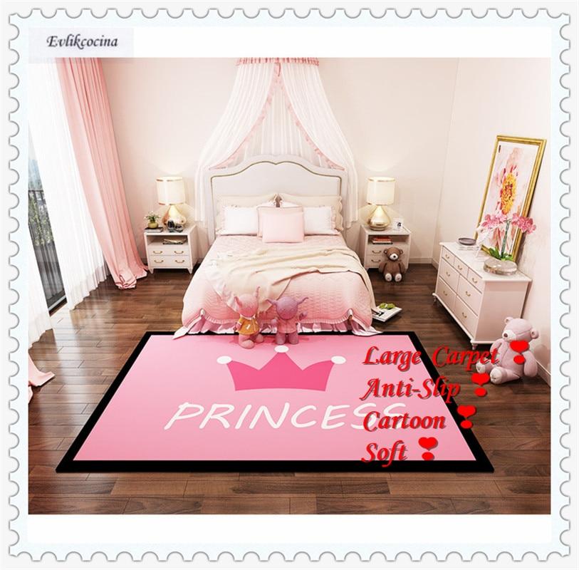 Livraison gratuite princesse rose tapis maison tapis tapis de sol pour salon Carpete Para Sala chambre Tapete Para Sala Alfombra