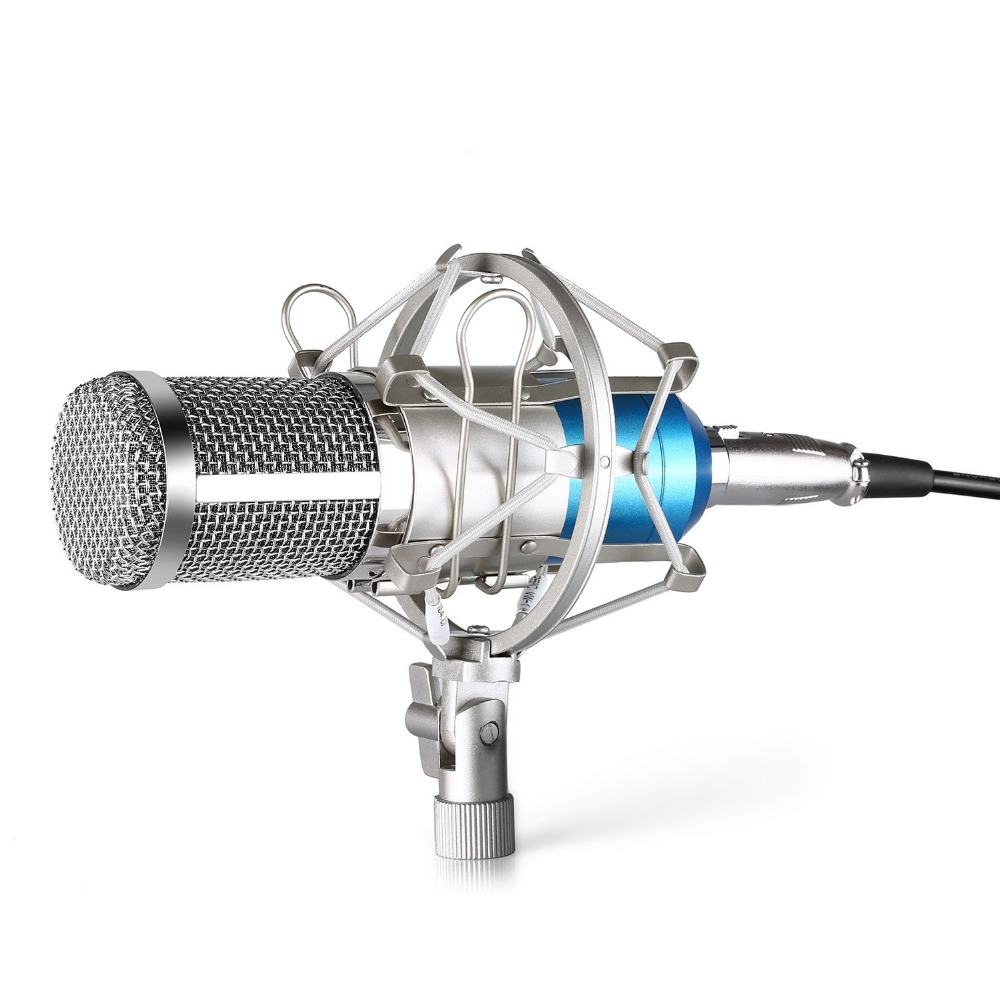 Neewer NW800 Microphone Set Including: NW-800 Professional Condenser Microphone+Shock Mount+Foam Cap+Microphone Power Cable