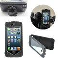 Conveniente para la vida a prueba de agua para bicicleta manillar de la motocicleta abs mobile mount holder teléfono para iphone 6/6 s 4.7 pulgadas
