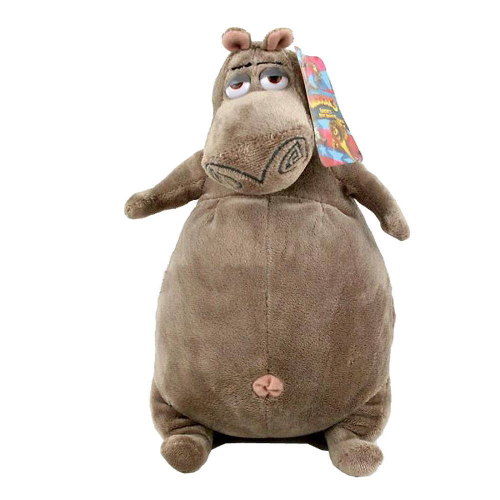 Cartoon Madagascar Gloria Plush Toy, Hippo Baby Gift, Kids Doll 38cm Hippo Plush the huge lovely hippo toy plush doll cartoon hippo doll gift toy about 160cm purple