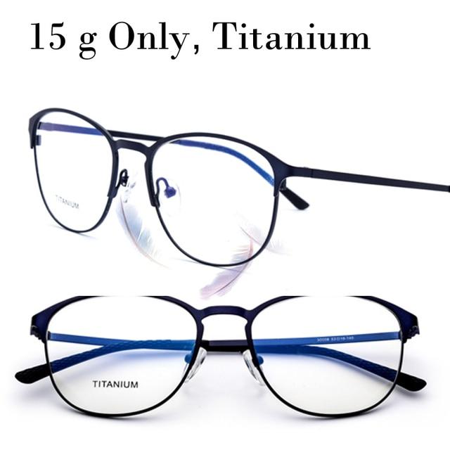 15 g Only Titanium Cat Eye Rimless Prescription Glasses Frame Women ...