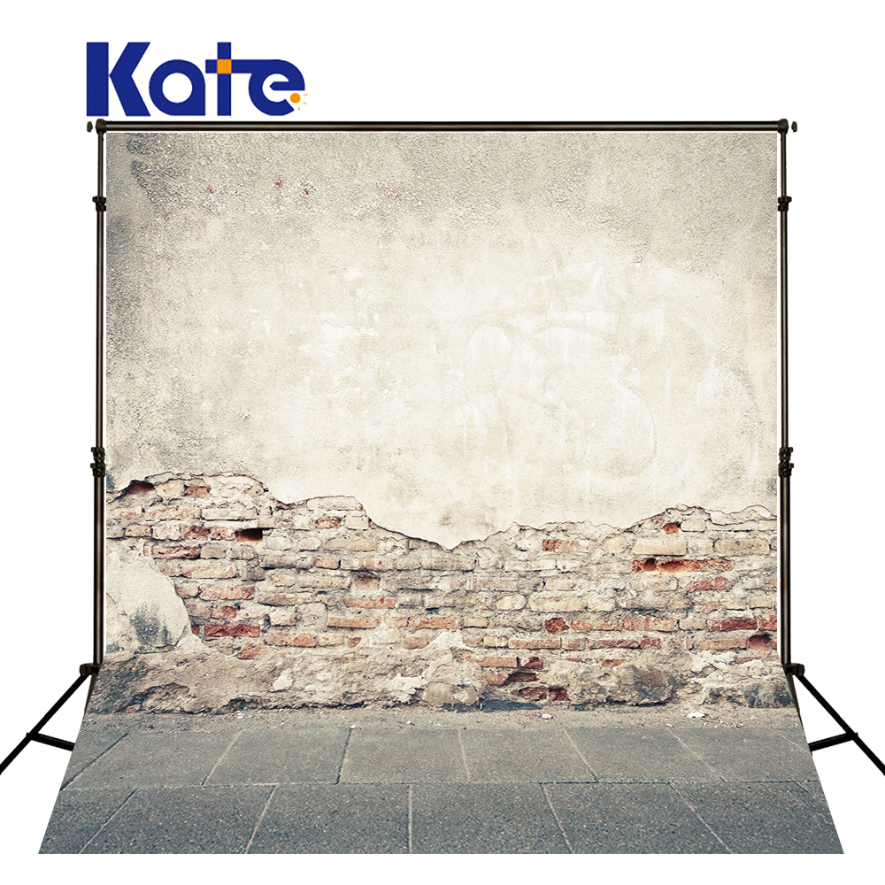 Kate Brick Wall Backdrop Vintage Mottled Wall Naked Baby Background Washable and Wrinkle Free Photography Backdrop for Studio naked and famous naked and famous in rolling waves 2 lp