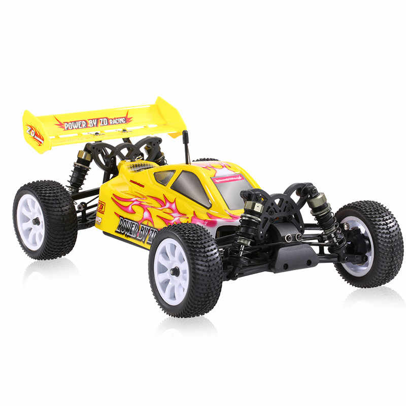 ZD Racing 9102 10421-S trueno B-10E DIY Kit de coche 2,4G 4WD 1/10 escala RC Off-Road Buggy sin piezas