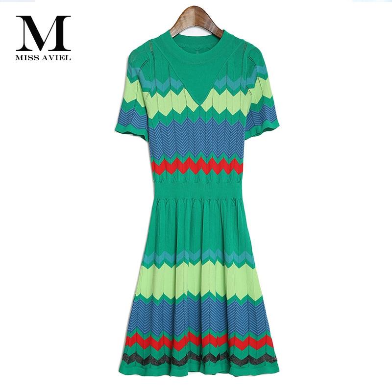 Italian Classic Knitwear Fashion 2016 Summer New Arrival O neck