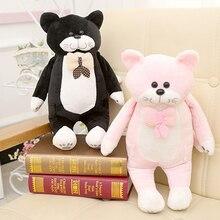 Lilla katt Doll Dolls Söt Katter PlushToys Pillow Children Födelsedag Gåva till Flickor Sova Baby Soft Cartoon Lovely Christmas