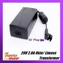 Кресло Замена или Кресельный подъемник 29 В 2.0Amp Okin Мощность AC/DC Импульсный Блок Питания Трансформатор