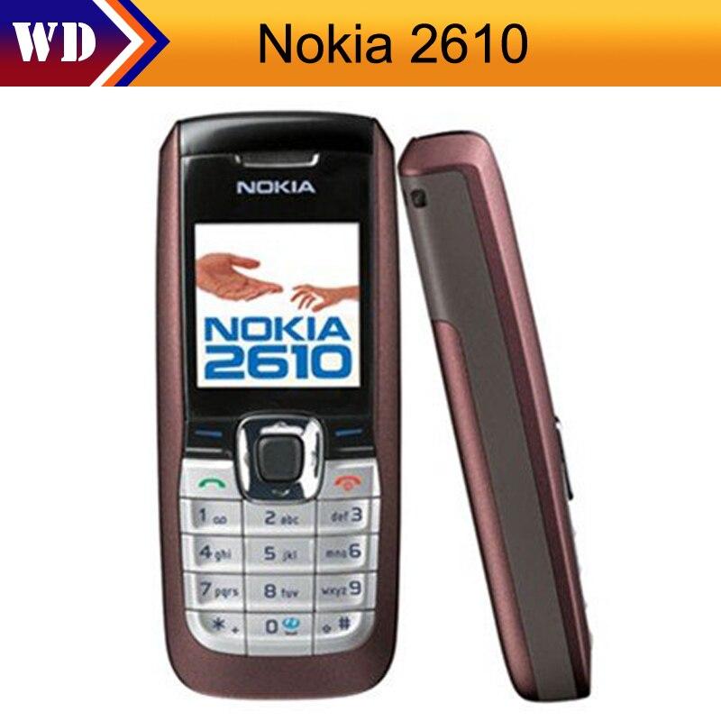 2610 d bloqu original nokia 2610 t l phone portable pas cher reconditionn gsm t l phone