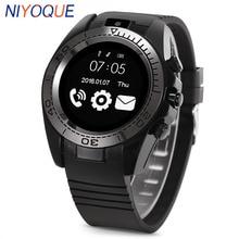 Reloj inteligente NIYOQUE SW007 para hombre, compatible con Android IOS tarjeta TF 2G