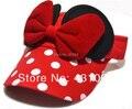 Ребенок милый шляпы Минни девочки hat дети cap хлопок детские шапки летом Девушки подарок