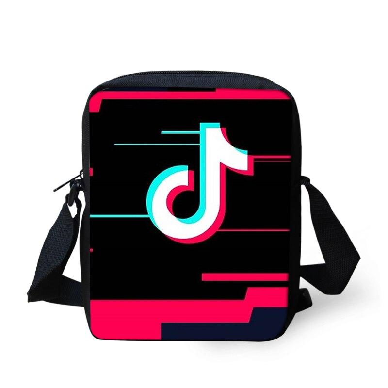 53cbc78a21be Mini Messenger Bag Women Handbag Teenager Boy Girls Music Note Print Men  Crossbody Shoulder Bags Male Small Capacity Black C