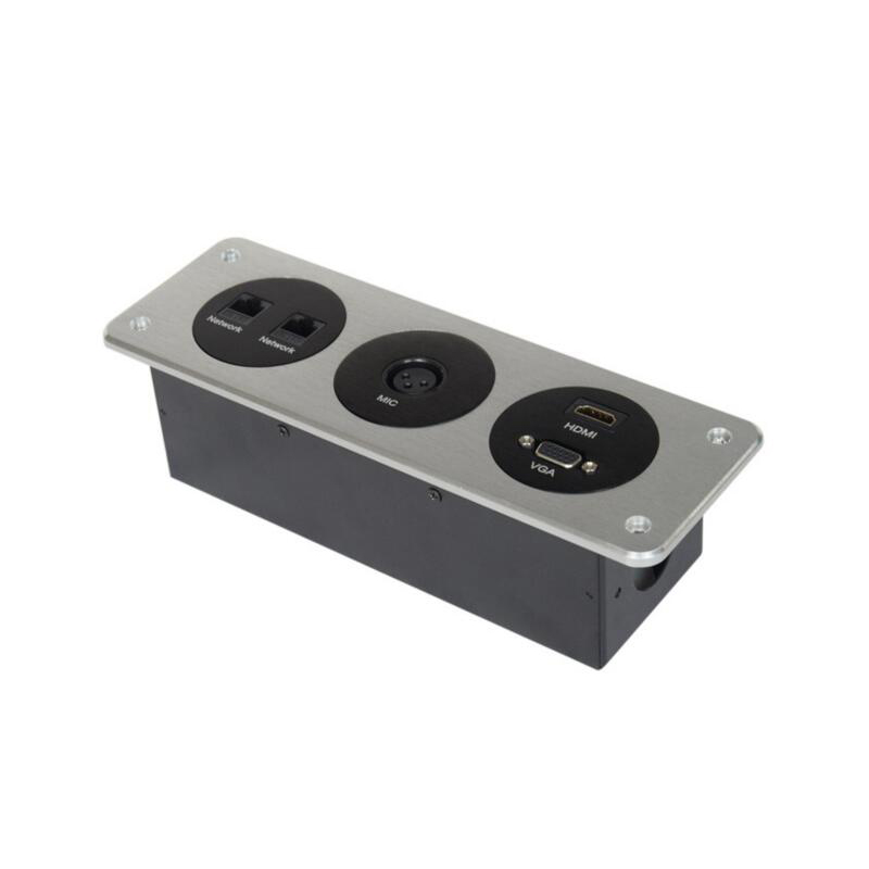 Hotel Wall Socket with two networks, MIC, HDMI, VGA Function Sockets for Hotel Conference meeting embedded design SocketHotel Wall Socket with two networks, MIC, HDMI, VGA Function Sockets for Hotel Conference meeting embedded design Socket