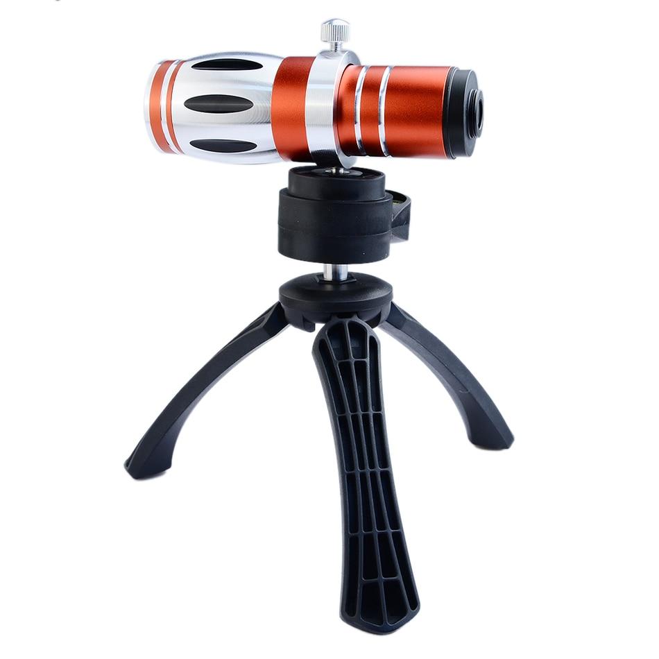 d8dec234be838 3in1 kits 17x zoom óptico de gama alta lente teleobjetivo para Samsung S7  S8 con trípode Fundas para móviles cámara móvil objetivos Kit